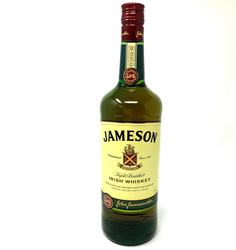 Jameson Triple Distilled Irish Whiskey 1Ltr